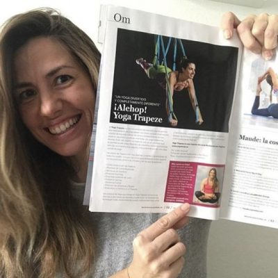 Yoga Journal Spain Revista Yoga Trapeze Judith Secanell