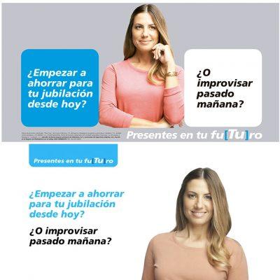 """""""La Caixa"""" National Campaign Judith Secanell"""