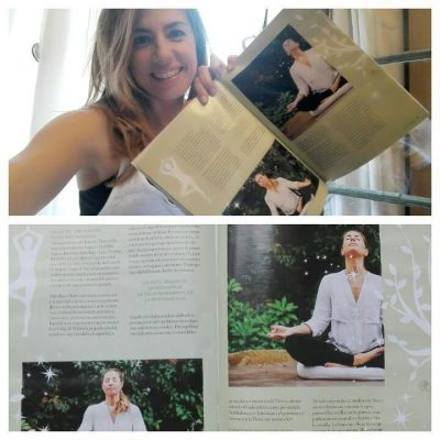 Yoga Journal Magazine Judith Secanell