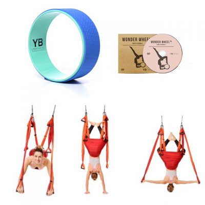YogaBody Fitness Yoga Trapeze Yoga Wheel Campaign Worldwide