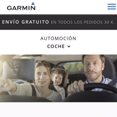 Worldwide Campaing for GARMIN Judith Secanell